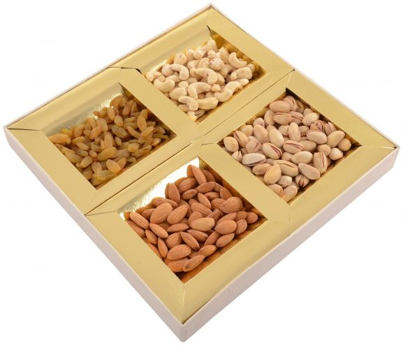 Munnalal Dawasaz Dry Fruits Gift Pack: Gifts For Grandmother