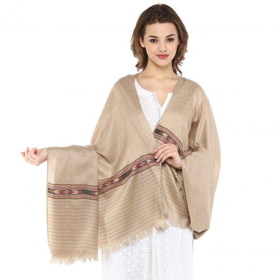 Pashtush Women's Fine Wool Shawl: Gifts For Grandmother