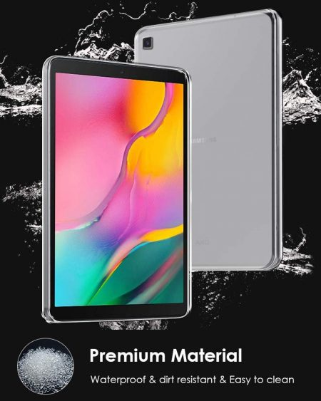 ProElite Soft TPU Transparent Back Cover: Samsung Galaxy Tab S5e Case