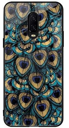 Qrioh Peacock Feathers: OnePlus 6T Cover