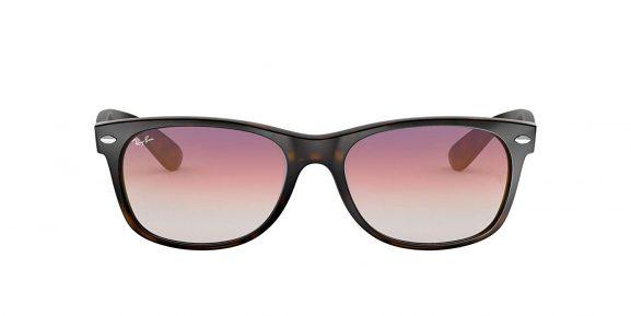 Ray-Ban Gradient Wayfarer Men's Sunglasses purple