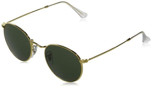 Ray-Ban RB3447 Round Metal Unisex Sunglasses