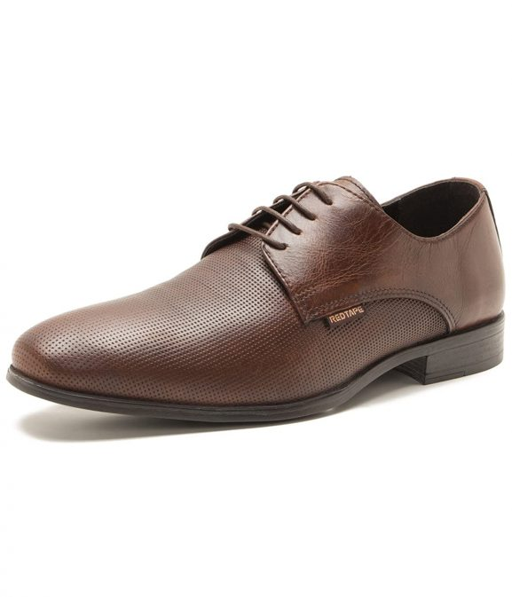 Red Tape Men's Derbys Leather Shoes