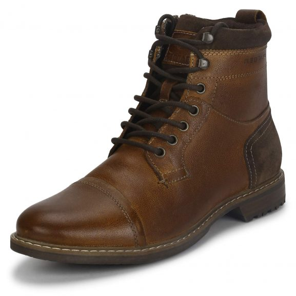 Red Tape Men's Rte2902 Leather Ankle Boot