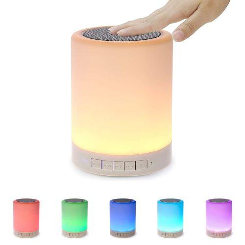 Shava Night Light with Bluetooth Speaker: Gift For Male Bestie