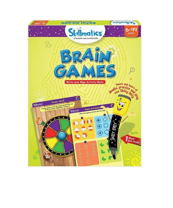 Skillmatics Educational Game Brain Games