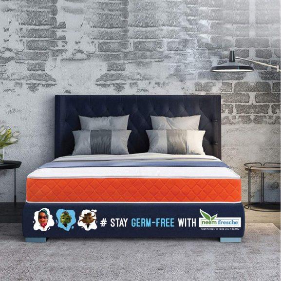 SleepX Dual Comfort Mattress- Medium Soft & Hard
