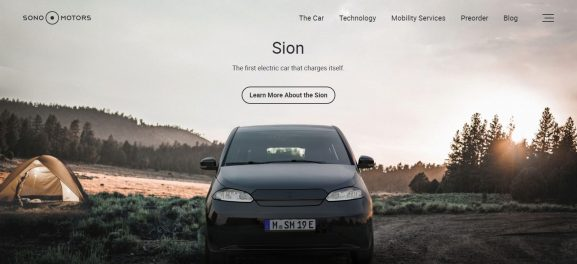 Sono Motor: Electric Vehicle Company