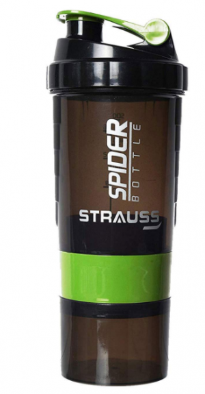 Strauss Spider Shaker Bottle 500 ml: Shaker Bottle