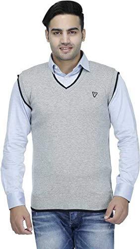 Super Weston Men's Wool V-Neck Sweater: Sweater For Men