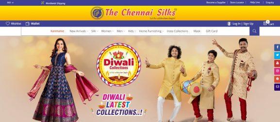 The Chennai Silks: Saree Brand