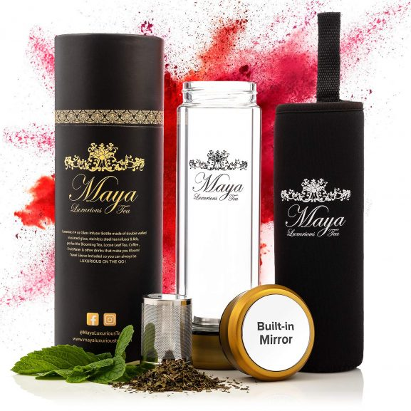 Tea Infuser Bottle by Maya Luxurious