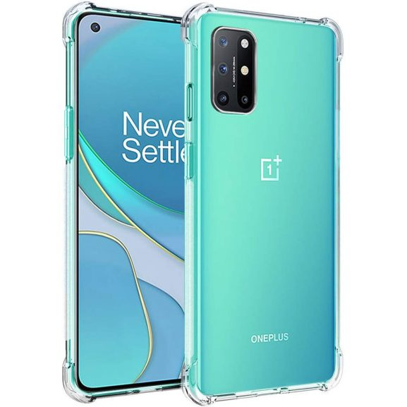 TheGiftKart Transparent Cover: Oneplus 8T Back Cover