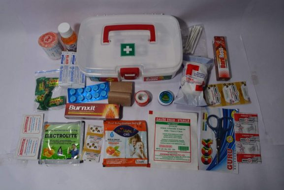 Tool Zone Travel Buddy Plastic First Aid Kit: Gifts For Grandmother