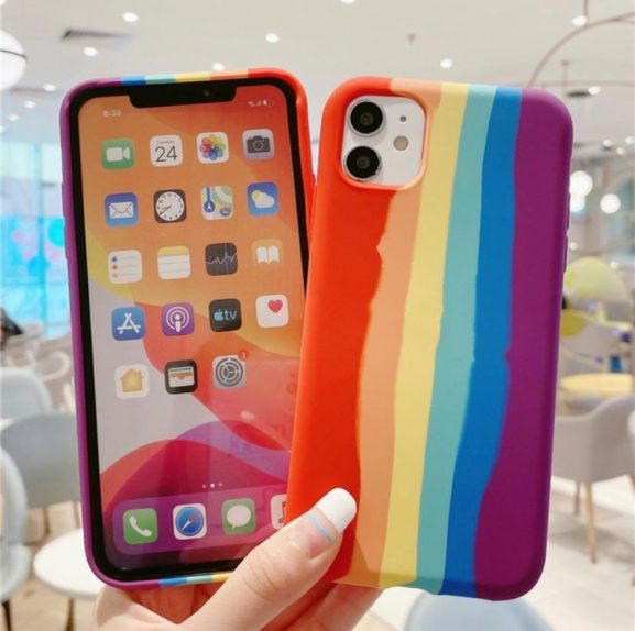 Trenx iPhone 12 Premium MultiColoured Silicone Case for iPhone 12 Pro Max