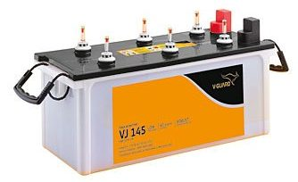 V-Guard Flat Tubular Inverter Battery: Inverter Battery