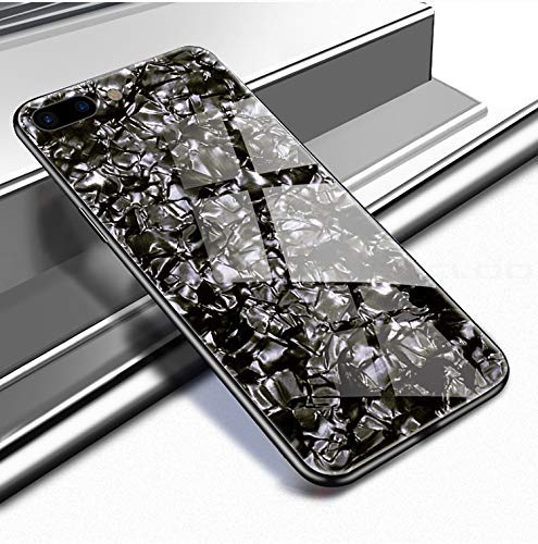 A.S. PLATINUM Marble Pattern Back Cover: iPhone 7 Plus Glass Case