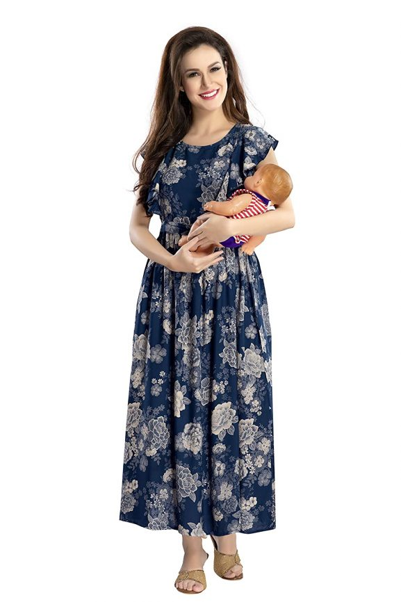 AV2 Women's Maternity Anarkali