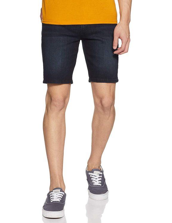 Amazon Brand - House & Shields Men's Regular Fit Denim Shorts
