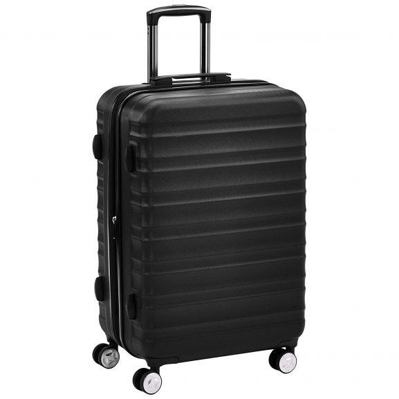 AmazonBasics Premium Spinner Suitcase