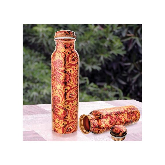 Ayurveda Copper Copper Water Bottle