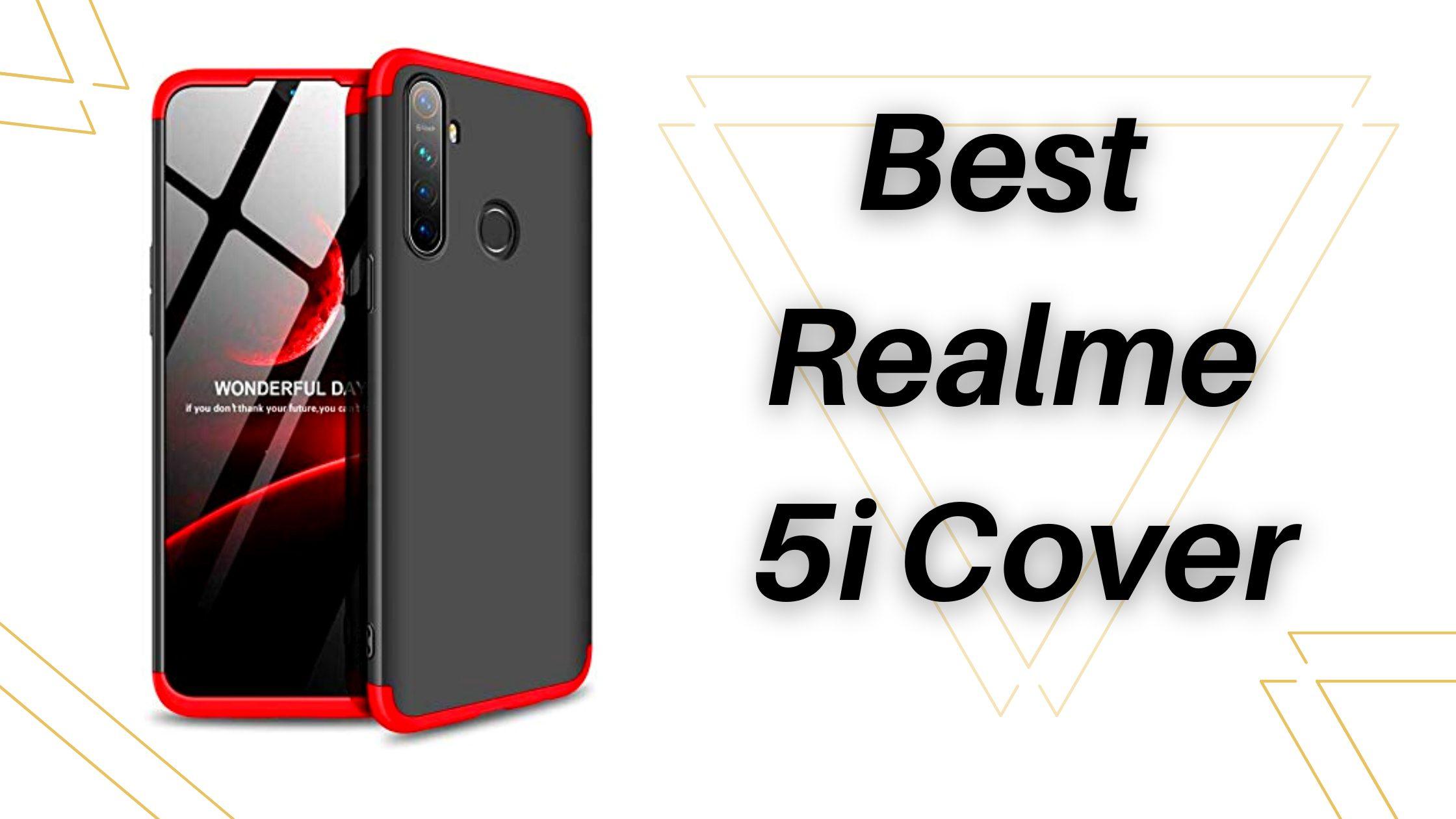Best Realme 5i Cover