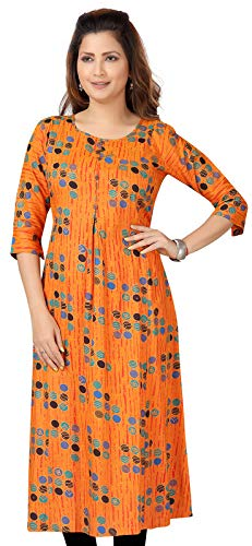 CEE 18 Women's Cotton Rayon Maternity Kurti with Zippers