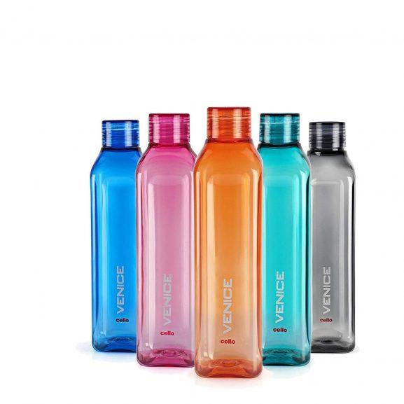Cello Venice Plastic Bottle Set