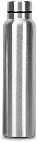 Classic Essentials Spring Stainless Steel Single-Walled Fridge Water Bottle