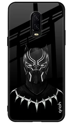 Dark Superhero Glass Cover: Oneplus 6T Case