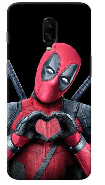Deadpool Oneplus 6T Back Cover: Oneplus 6T Case