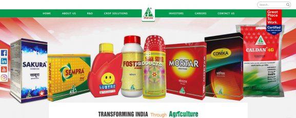 Dhanuka Agritech Ltd: pesticide company