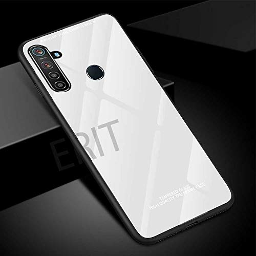 ERIT Back Luxurious Toughened Glass Case Cover