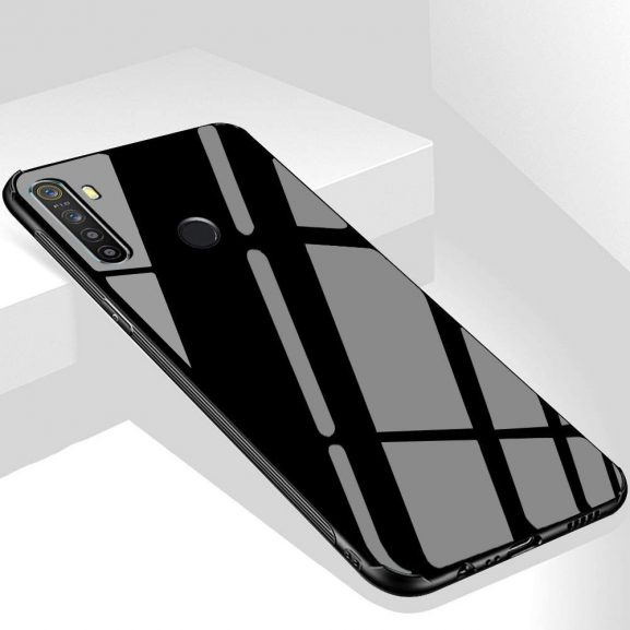 ERIT Back Toughened Glass Case Cover