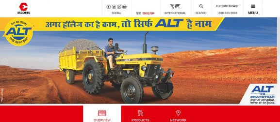 Escorts Ltd: Tractor Company