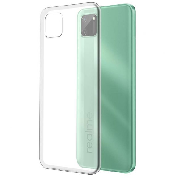 Fashionury Back Cover Case with Ultimate Protection, Flexible Transparent Back Cover for Realme C11