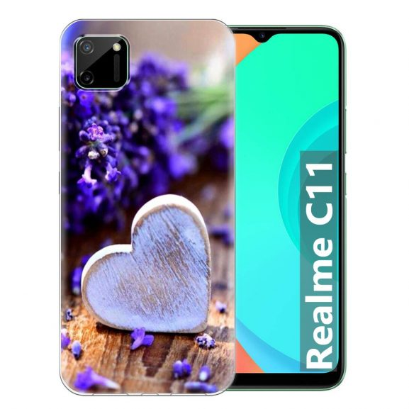 Fashionury Soft Silicone Designer Printed Full Protection Printed Back Case Cover for Realme C11