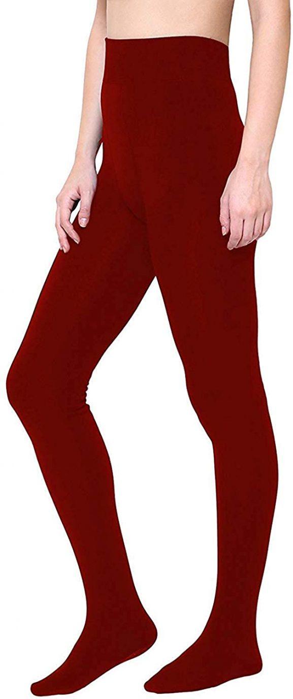 Golden Girl Women's Woolen Winter Thermals - Best Leggings For Girl
