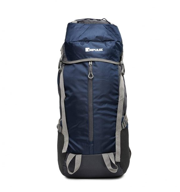 Impulse 71.12 cms Blue Trekking Backpack