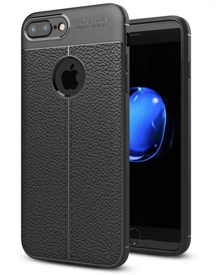 IronWolf Rugged Carbon Fiber Back Cover: iPhone 7 Plus Protective Case