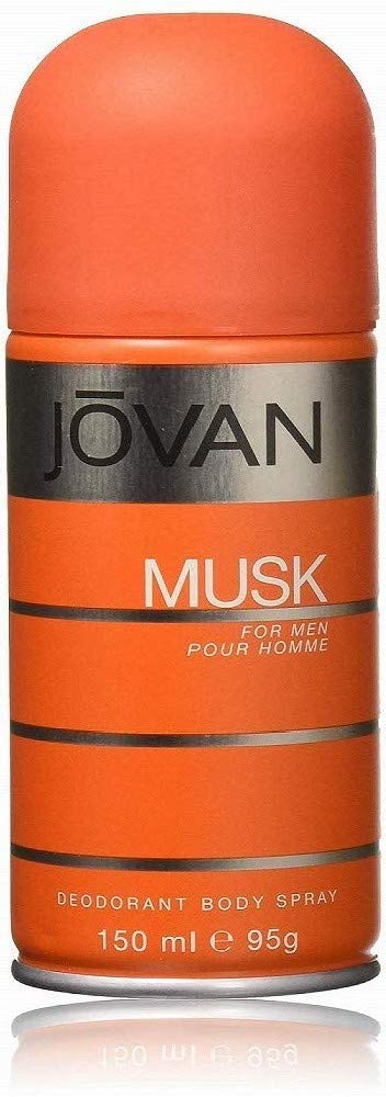 Jovan Musk Body Spray for Men
