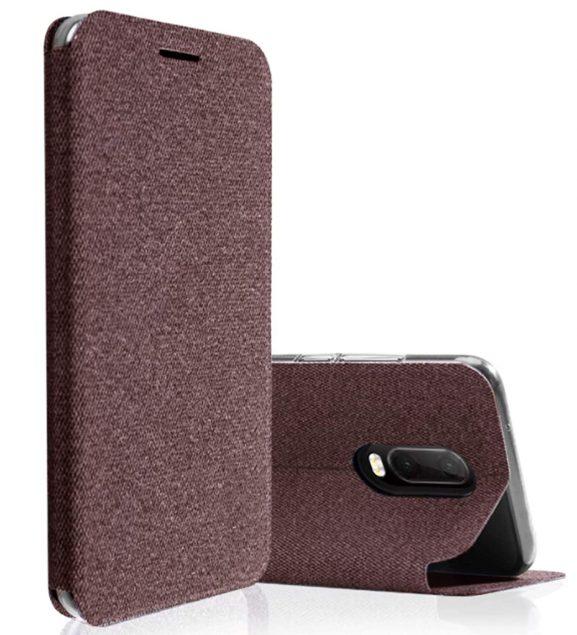 Kapa Protective Flip Cover: Oneplus 6T Flip Case