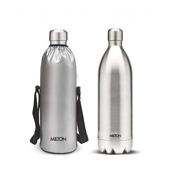 Milton bottle Thermosteel Stainless Steel Duo 1800ml Water Bottle