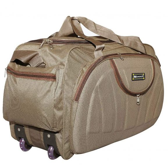 N Choice Waterproof Polyester Lightweight Luggage Travel Duffel Bag