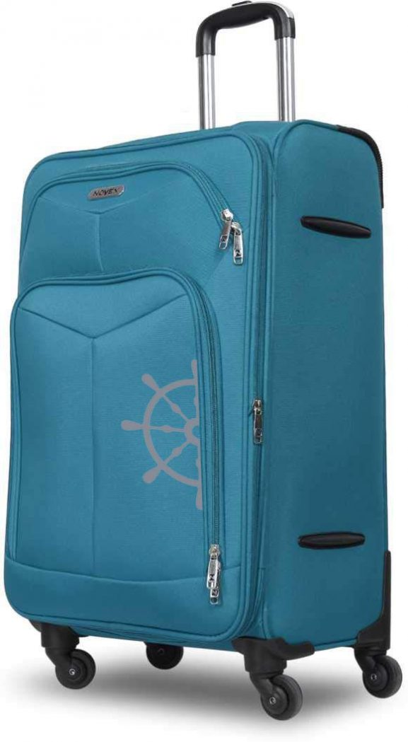 NOVEX Canyon Cabin Size Soft Sided Luggage Trolley Suitcase