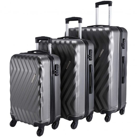 Nasher Miles Lombard Hard-Sided, Polycarbonate Luggage