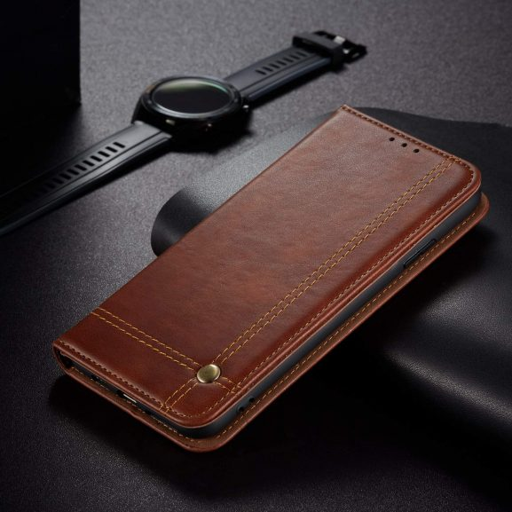 Pikkme Oneplus 6T Leather Flip Cover: Oneplus 6T Flip Case