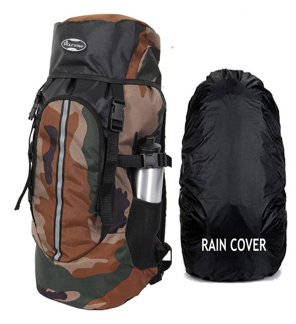 Polestar Hike Camo Rucksack with Rain Cover
