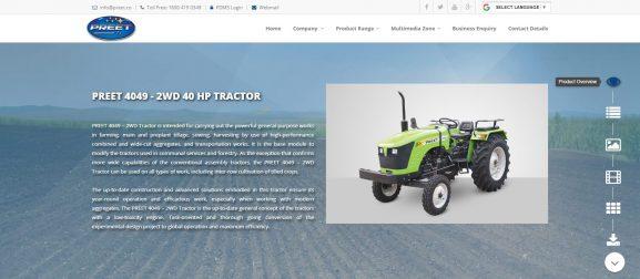 Preet Tractors: Tractor firm