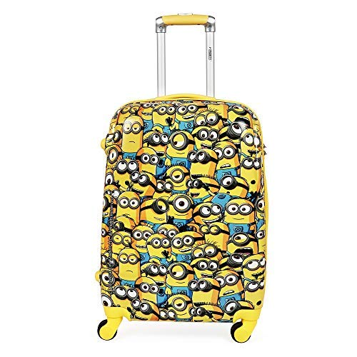 Priority Minion Group Kid's Hard Trolley Bag Travel Luggage